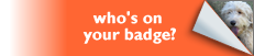 Who's on your badge
