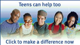 Teens can help too